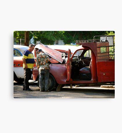 Havana Auto Shop Canvas Print
