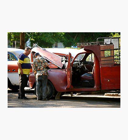Havana Auto Shop Photographic Print