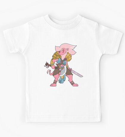 Lion, Mentor Of Heroes  Kids Tee