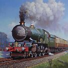 GWR 4.6.0.King class by Mike Jeffries