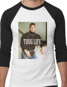 Throwback - Dwayne Johnson Men's Baseball ¾ T-Shirt