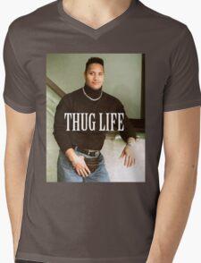 Throwback - Dwayne Johnson Mens V-Neck T-Shirt