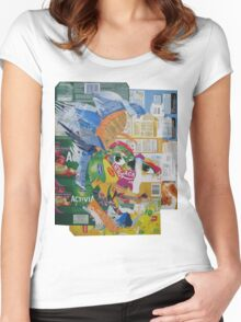 Count Olaf Women's Fitted Scoop T-Shirt