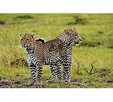 Loving Couple-Kenya Photographic Print