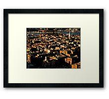 Boston North End Framed Print