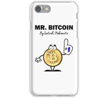 Mr Bitcoin T Shirt By Satoshi Nakamoto  iPhone Case/Skin