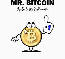 Mr Bitcoin T Shirt By Satoshi Nakamoto  Unisex T-Shirt