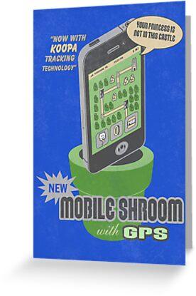 Mobile Shroom by thehookshot