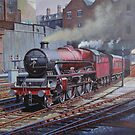 LMS Jubilee class. by Mike Jeffries