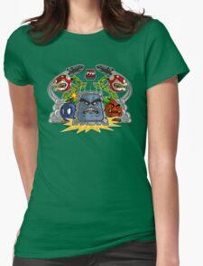 8-Bit Nightmare Womens Fitted T-Shirt