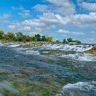 Upper Niagara Rapids by JHRphotoART