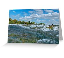 Upper Niagara Rapids Greeting Card