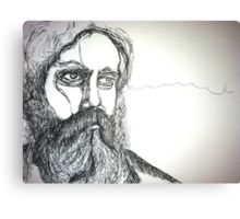 Iron & Wine Canvas Print