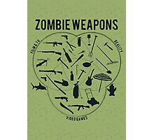 Zombie weapons Photographic Print
