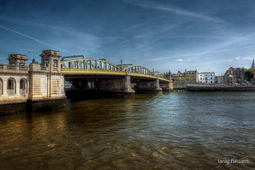 Rochester Bridge  by larry flewers