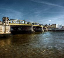 Rochester Bridge  by larry flewers