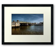 Rochester Bridge  Framed Print