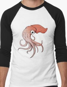 Squidly Men's Baseball ¾ T-Shirt