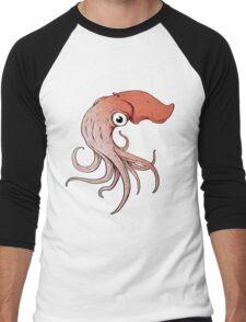 Squidly Men's Baseball ¾ T-Shirt