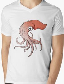 Squidly Mens V-Neck T-Shirt