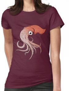 Squidly Womens Fitted T-Shirt
