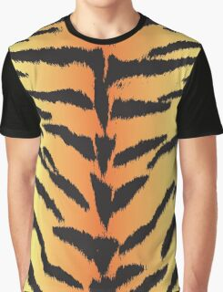 Tiger Skin Pattern Graphic T-Shirt