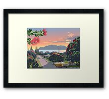 Great Barrier Island - Road to Leigh Framed Print