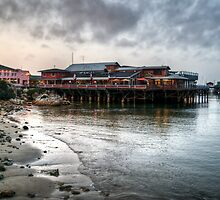 Monterey Wharf by Diego  Re