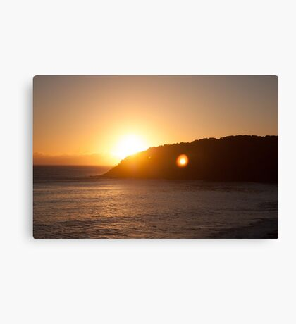 Noosa Sunrise Canvas Print