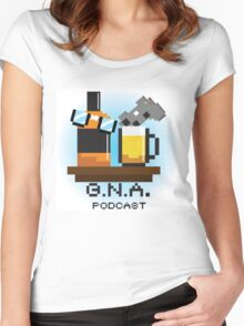 G.N.A. Podcast Women's Fitted Scoop T-Shirt