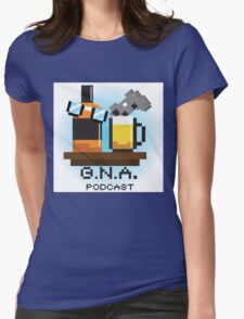 G.N.A. Podcast Womens Fitted T-Shirt