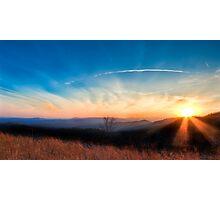 Appalachian Sunset Photographic Print