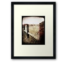 When Time Fades Framed Print