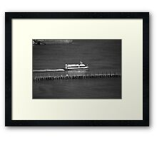 New York City Water Taxi Framed Print