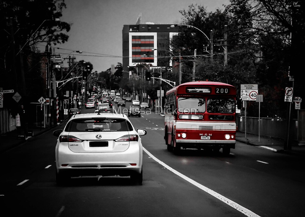 4pm Traffic  by Melissa Dickson