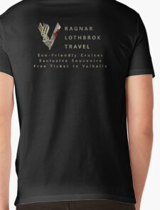 Ragnar Lothbrok Travel Mens V-Neck T-Shirt
