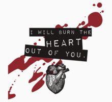 Moriarty - Heart T-Shirt