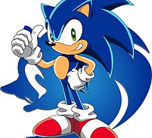 Sonic the hedgehog by darksonic