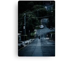 Down the Lane Canvas Print