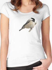 Willow Tit Women's Fitted Scoop T-Shirt