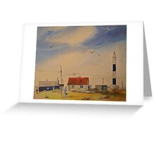New light house - Dungeness Kent Greeting Card