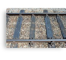 Rail Tracks Canvas Print