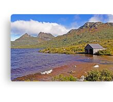 Breakers at the Boat Shed - Dove Lake Canvas Print