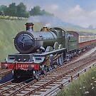 GWR  Saint at Flax Burton by Mike Jeffries