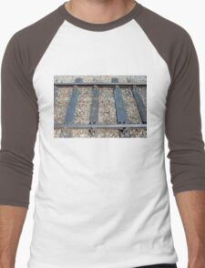 Rail Tracks Men's Baseball ¾ T-Shirt
