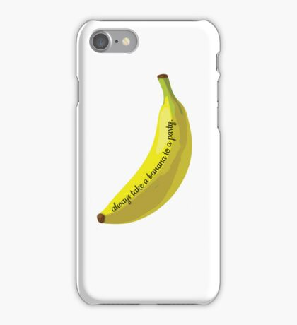 Bananas are good. iPhone Case/Skin