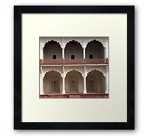 Arches, Doors And Balconies Framed Print