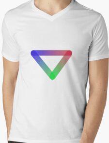 RGB Tri Mens V-Neck T-Shirt