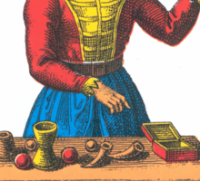 The Magician Tarot Sticker