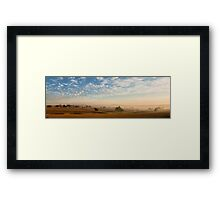 Smokey Sunset #2 ~ Cootamundra (NSW) Framed Print